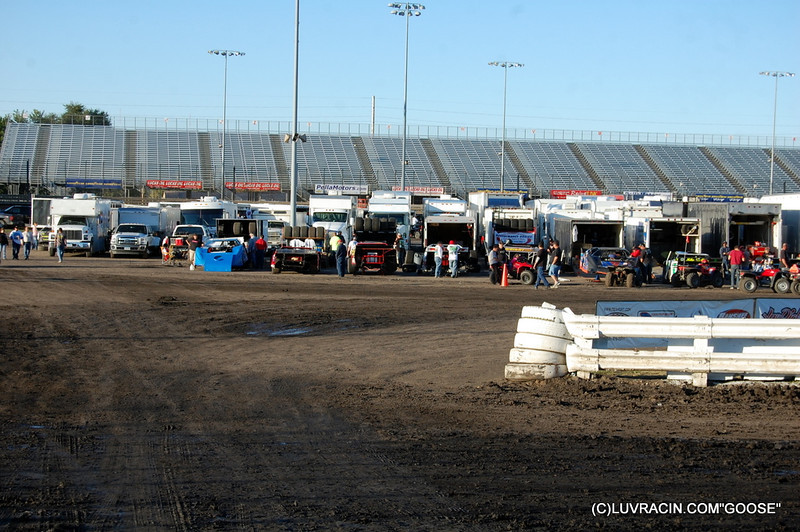 PITS OR INFIELD
