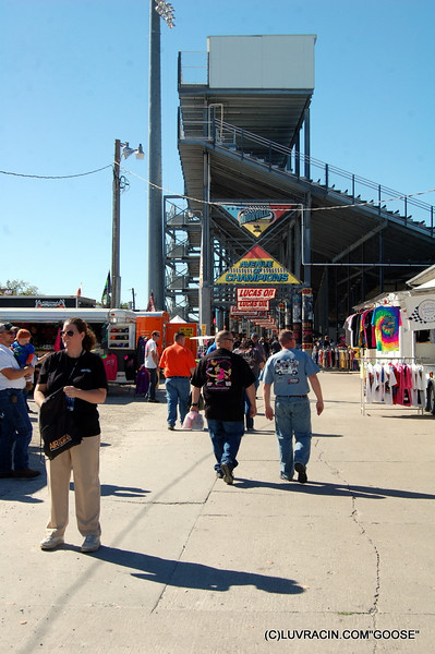 FRONT GRAND STANDS KNOXVILLE RACEWAY