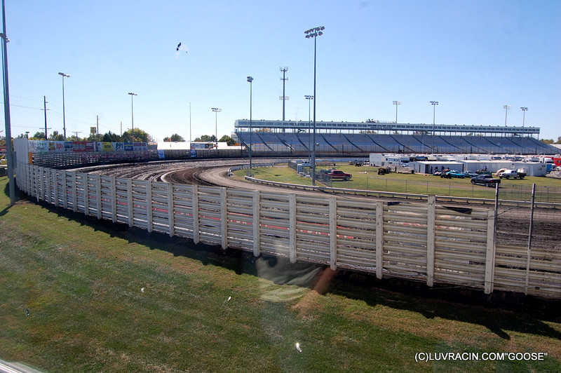 TURN ONE AND TWO FRONT GRAND STAND
