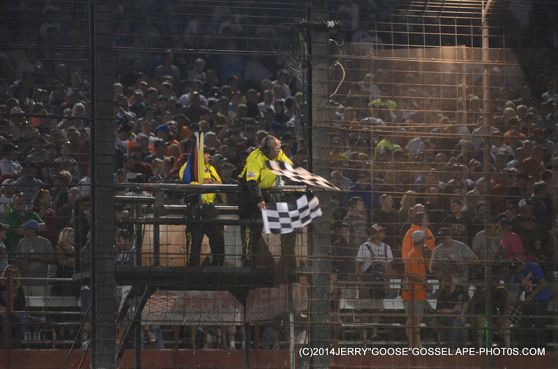 TWIN CHECKERS BY DOUG CLARK , 410 KNOXVILLE RACEWAY 2014 NATIONALS