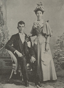 Photo from booklet of Timothy and Anna