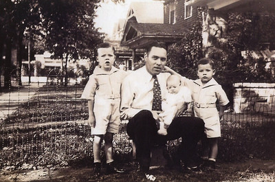 Grandpa Daly, Pat, Eddy, Mom