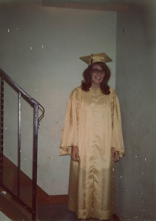 Graduation Hazelwood 1970