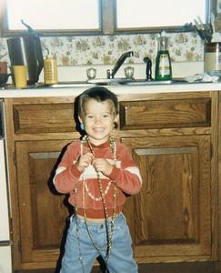 Kyle goes punk rock September 1984