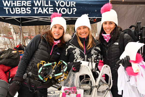 KOMEN SNOWSHOE FOR THE CURE 2017