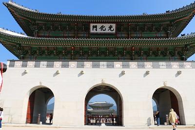 Gwanghwamun Gate, Gyeongbokgung Palace, Seoul, South Korea