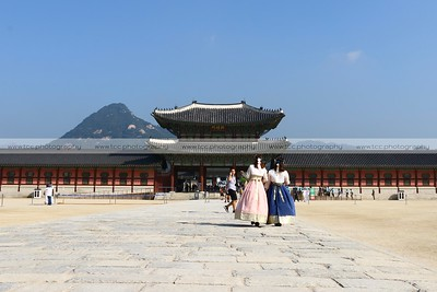 Heungnyemun Gate, Gyeongbokgung Palace, Seoul, South Korea