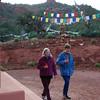 Circumambulating Amitabha Stupa  in Sedona, Arizona, by Ani Dawa