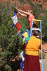 SD-344 (46)  International Prayer Flag Event at the Amitabha Stupa in Sedona Arizona.