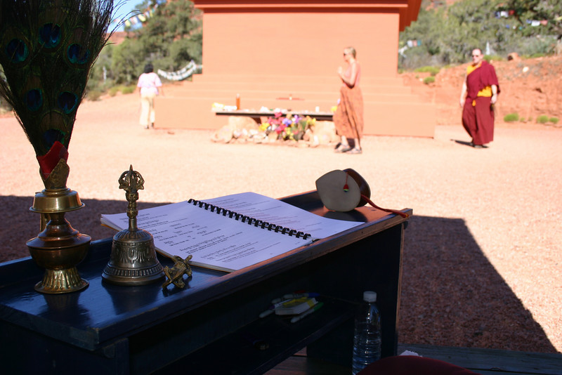 SD-344 (41 International Prayer Flag Event at the Amitabha Stupa in Sedona Arizona.