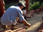 Path To Peace Brick Laying - Amitabha Stupa, Sedona