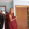 Rinpoche blessed every room in the centre.