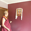 Rinpoche was very pleased to see this thanka of our teacher, HH Penor Rinpoche.