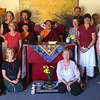 Group shot following weekend teaching November 2015 of those that attended  Lopon Pema's teaching