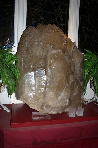 Crystals at Kunzang Palyul Chöling - Harmony crystal