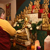 Making New Year's wishing prayers & offering candles to benefit beings.