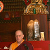 Gonpo Yeshe leads Tsog ceremony prayers