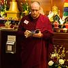 Gonpo leading opening prayers