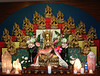 WM-198-40 Tara altar, including all 21 principal emanations of Tara, by Wib Middleton