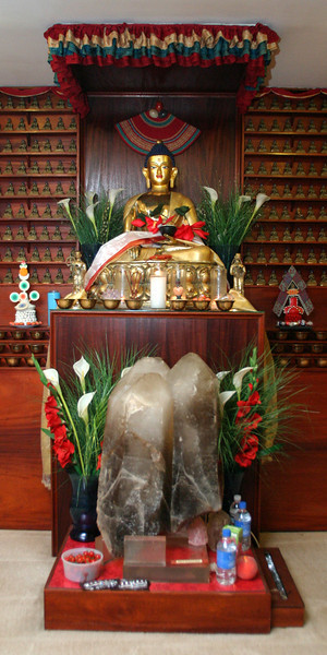 WM-198-22 Shakyamuni altar, by Wib Middleton