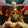 WM-198-36 Guru Rinpoche statue, by Wib Middleton