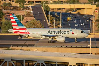 American Airlines Airbus A319-112 N751UW 7-3-17