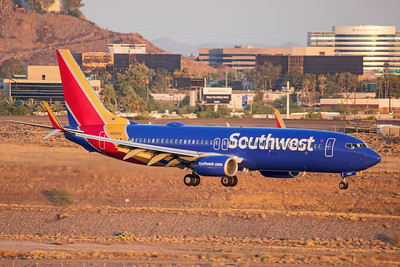 Southwest Airlines Boeing 737-8H4 N8655D 7-3-17