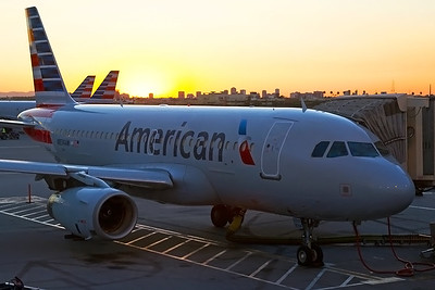 American Airlines Airbus A319-132 N834AW 6-16-17