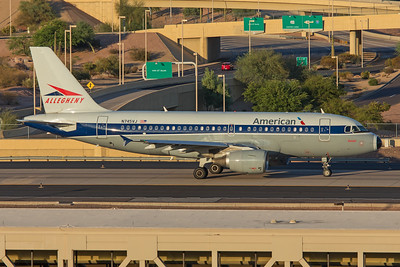 American Airlines Airbus A319-112 N745VJ 7-3-17