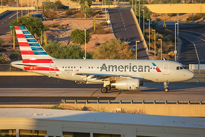 American Airlines Airbus A319-132 N805AW 7-3-17