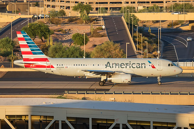 American Airlines Airbus A320-232 N664AW 7-3-17