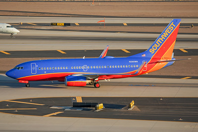 Southwest Airlines Boeing 737-7H4 N290WN 7-3-17 2