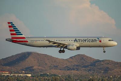 American Airlines Airbus A321-211 N156UW 7-3-17