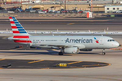 American Airlines Airbus A320-232 N647AW 2-2-18 2