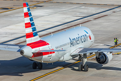 American Airlines Airbus A319-112 N764US 2-2-18