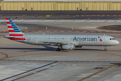 American Airlines Airbus A321-231 N918US 2-2-18
