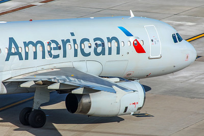 American Airlines Airbus A319-132 N821AW 2-2-18