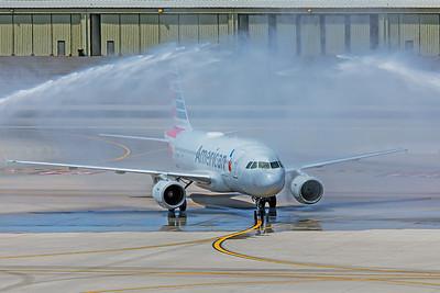 American Airlines Airbus A319-112 N751UW 5-30-18