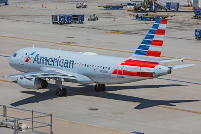 American Airlines Airbus A319-132 N809AW 5-30-18
