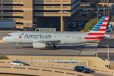 American Airlines Airbus A320-232 N651AW 2-2-18