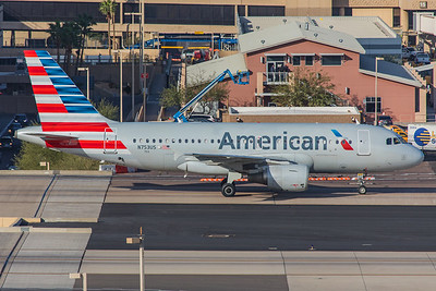 American Airlines Airbus A319-112 N753US 2-2-18 2