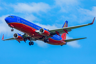 Southwest Airlines Boeing 737-8H4 N8648A 8-12-18