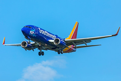 Southwest Airlines Boeing 737-7BX N553WN 8-12-18 2