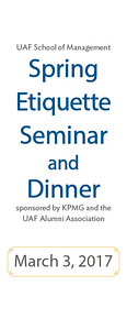 2017 Spring Etiquette Dinner Program2