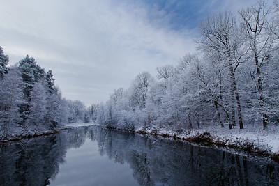 Zimowy las, zima, 001