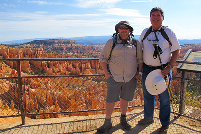 Glenn Gregory and Chris Hatcher, Hiking Bryce Canyon National Park.