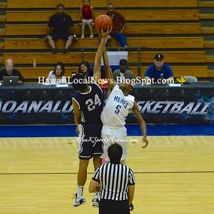 KS-Kapalama Varsity Boys Basketball vs Moanalua 2015