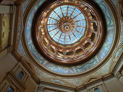 Kansas Capitol Dome 2