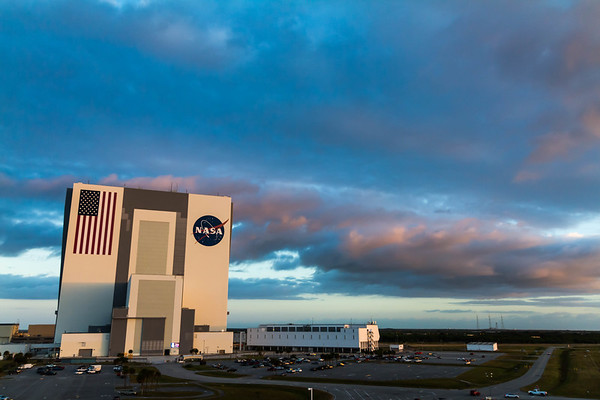 Sunrise at the VAB