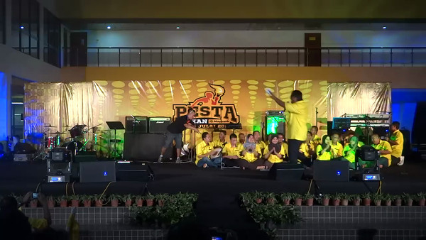 Maybank Kelantan/Terengganu - Maybank Got Talent @ Pesta Sukan Maybank 2012